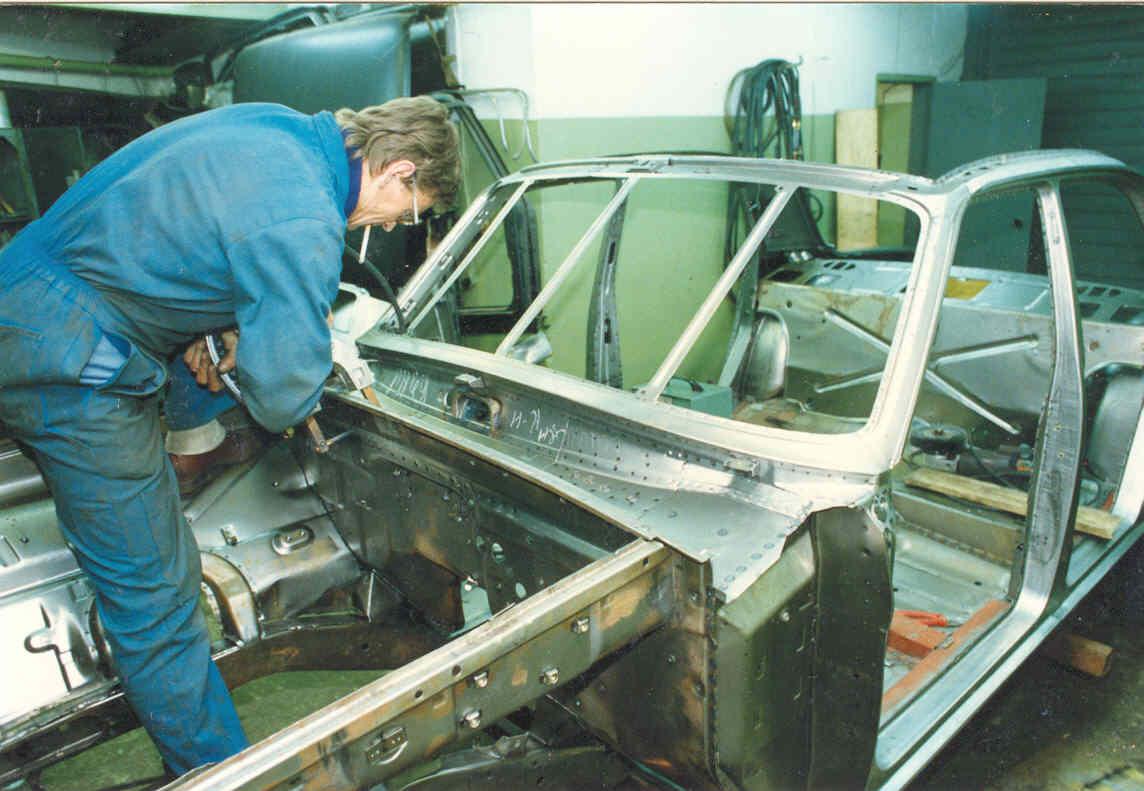 Как самому сделать кузовной ремонт ваз